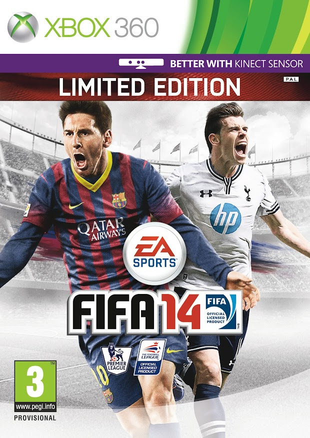 Gareth Bale revealed as Messi's co-star on the cover of FIFA 14