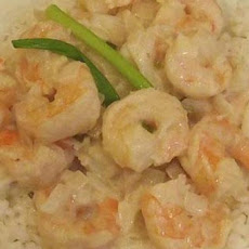 Prawns/Shrimp in Creamy Mustard Sauce