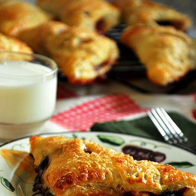 Apple Blueberry Turnovers