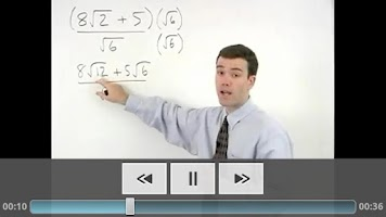 Screenshot of COMPASS Math Prep