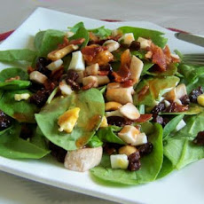 Fruity-nutty Spinach Salad