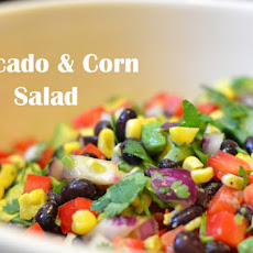 Avocado & Corn Salad