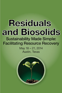 Residuals and Biosolids 2014 - screenshot