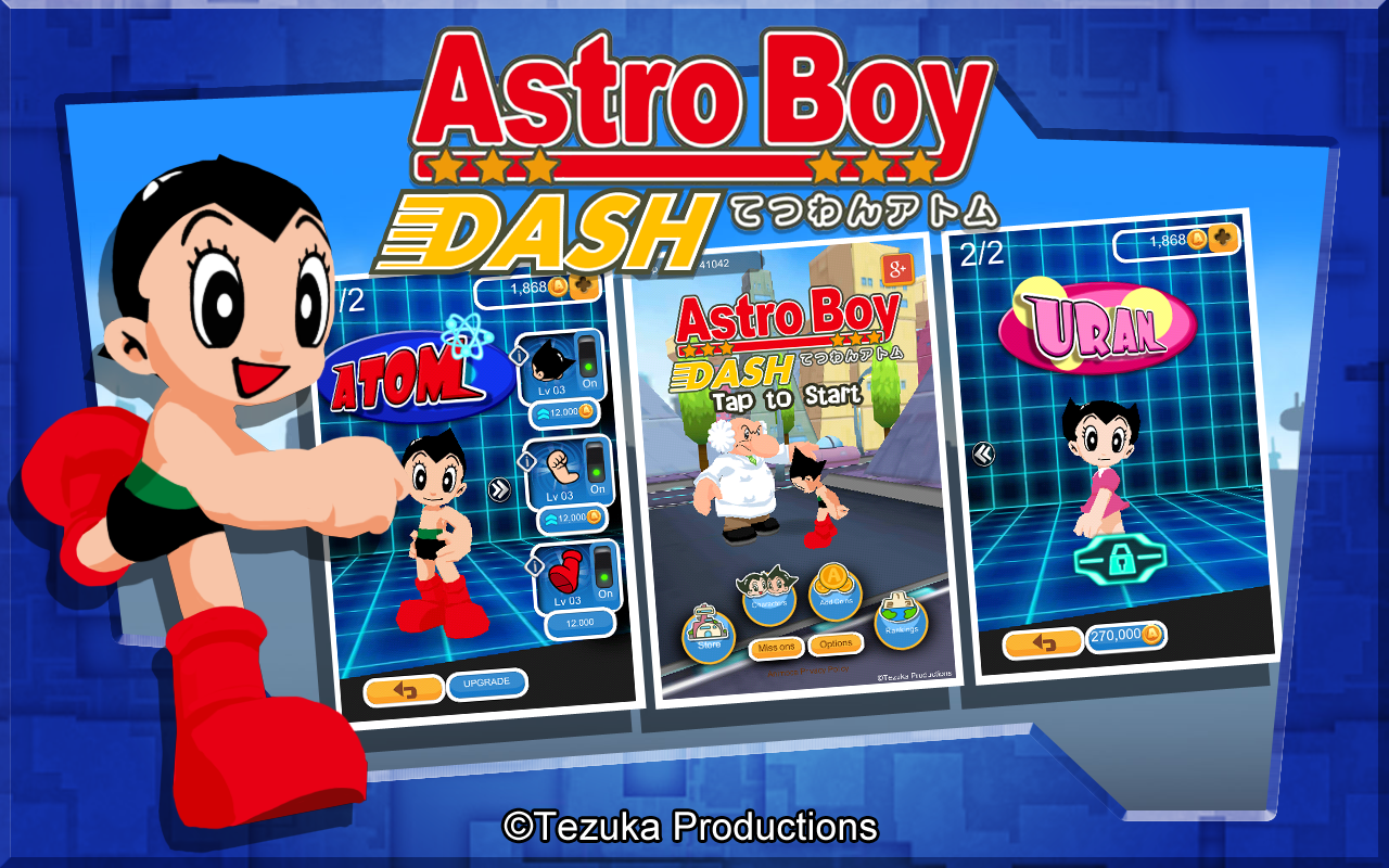 Astro Boy Dash Screenshot 1