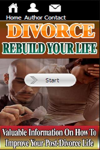 Divorce - Rebuild Your Life