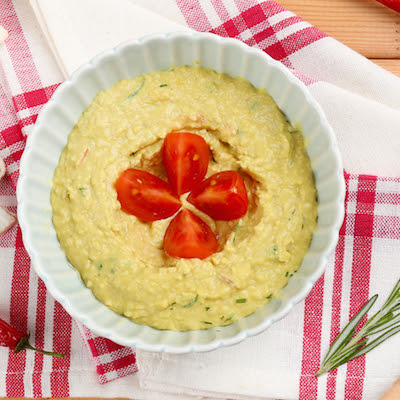 Avocado And Jalapeño Hummus