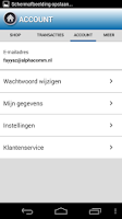 Screenshot of Lycamobile - Beltegoed
