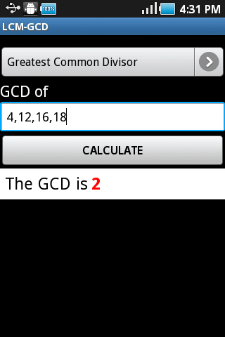 LCM-GCD