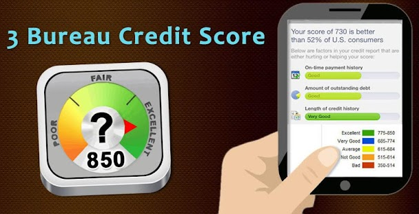 app 3 bureau credit score apk for windows phone android games and apps. Black Bedroom Furniture Sets. Home Design Ideas