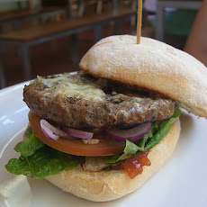 Grilled Burgers With Garden Vegetables