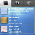 eMobile Note with Outlook Sync icon