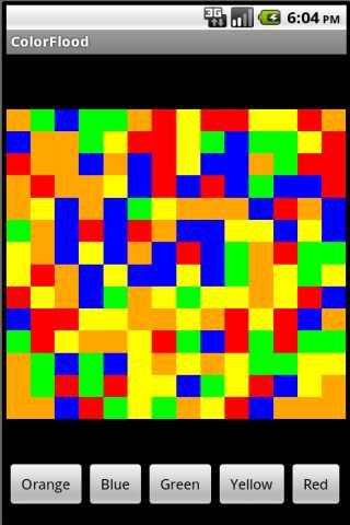 【免費解謎App】ColorFlood-APP點子