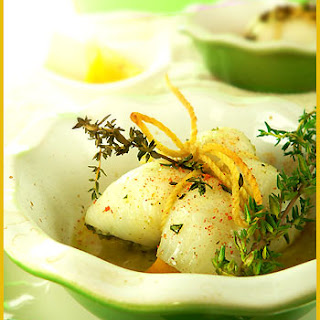Sole Roulades with Herbs and Lemon