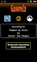 Screenshot of GrooveIn - Grooveshark Search