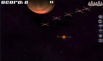 Screenshot of Afterburn: 3D space shooter