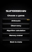 Screenshot of Super Brain