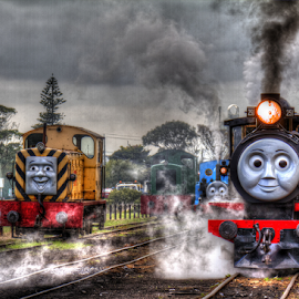 Storybook comes to life by Peter Keast - Transportation Trains ( story, tourist, railway, australia, transportation, steam,  )