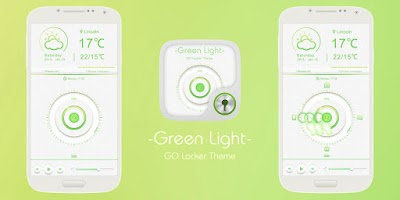 Screenshot of GREEN LIGHT GO LOCKER THEME