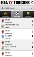 Screenshot of Tracker - for FIFA 12
