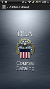 DLA Course Catalog - screenshot