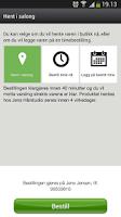 Screenshot of FixIT Timebestilling