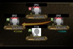 Screenshot of ドリーム麻雀~聴け、牌の詩~ byGゲーカジノ