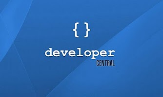 Screenshot of Developer Central