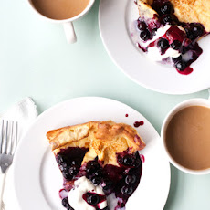 Blueberry Lemon Dutch Baby