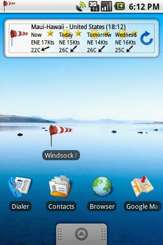 Windsock Forecast