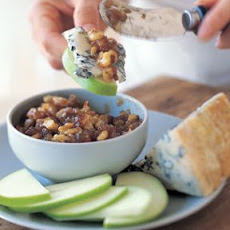 Gorgonzola with Walnut Compote
