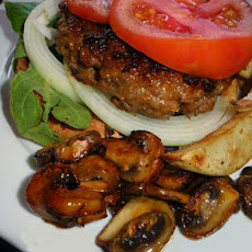 Harissa Pork Patties or Burgers