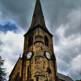 st bartholomews in colour by Nic Scott - Buildings & Architecture Places of Worship ( church, color, place of worship,  )