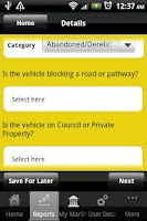 Screenshot of Maribyrnong City Services