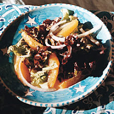 Red Leaf Salad with Oranges