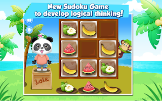 Screenshot of Lola's Fruity Sudoku FREE
