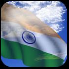 3D India Flag + icon
