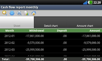 Screenshot of Hoasung Expense Manager