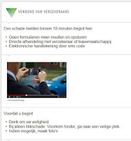 Screenshot of Mobielschademelden.nl