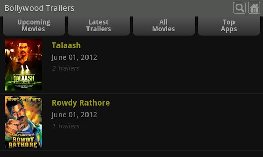 Bollywood Trailers - screenshot