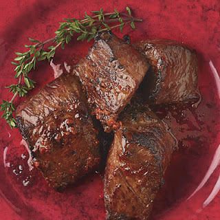 Harissa-Marinated Top Sirloin Tips