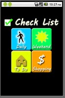 Screenshot of CheckList