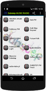 Dubstep MUSIC RADIO - screenshot