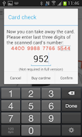 Screenshot of cardme