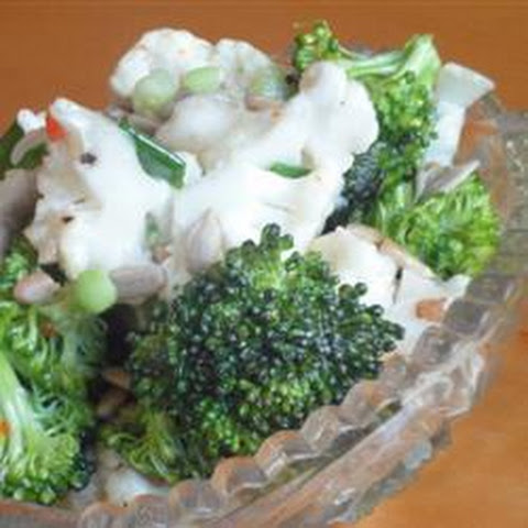 Broccoli And Cauliflower Salad With Capers In Lemon Vinaigrette ...