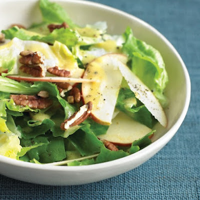 Escarole Salad with Apples and Pecans