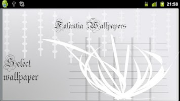 Screenshot of Falantia Wallpapers