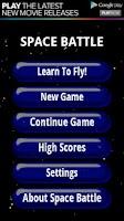 Screenshot of Space Battle