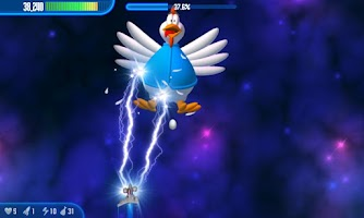 Screenshot of Chicken Invaders 3