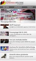 Screenshot of Almanya Bülteni