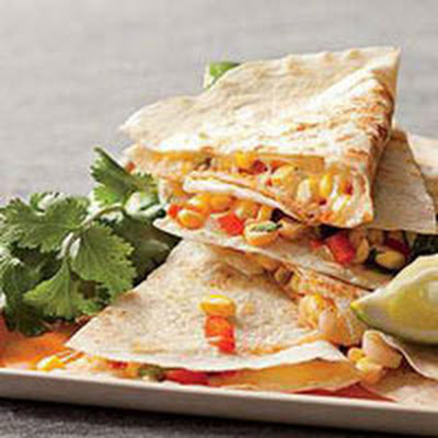 Sweet Corn Quesadillas